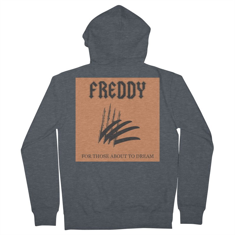 For Those About To Dream Women's French Terry Zip-Up Hoody by oldtee's Artist Shop