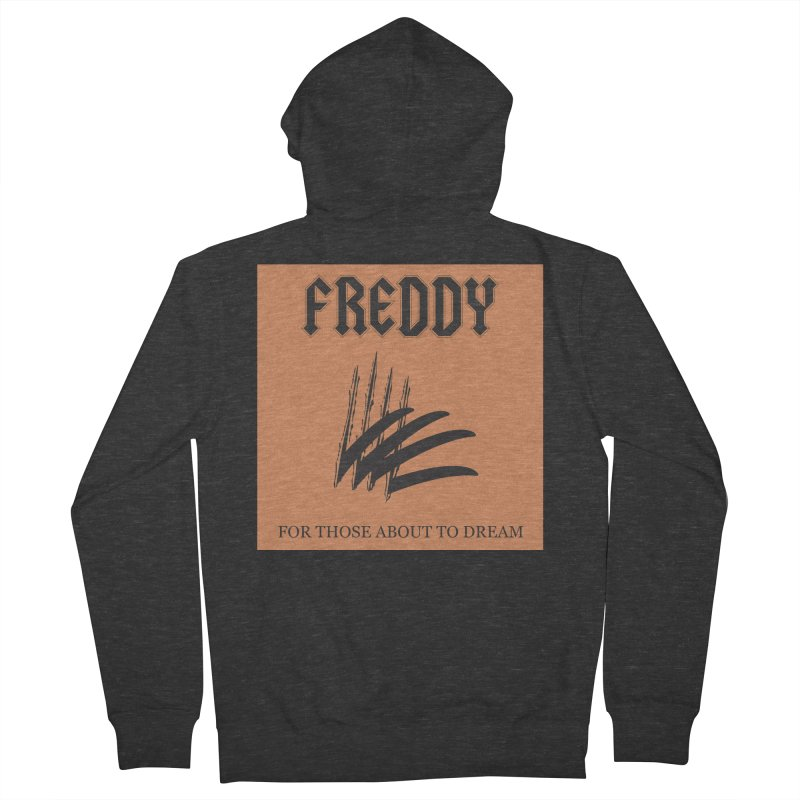 For Those About To Dream Men's French Terry Zip-Up Hoody by oldtee's Artist Shop