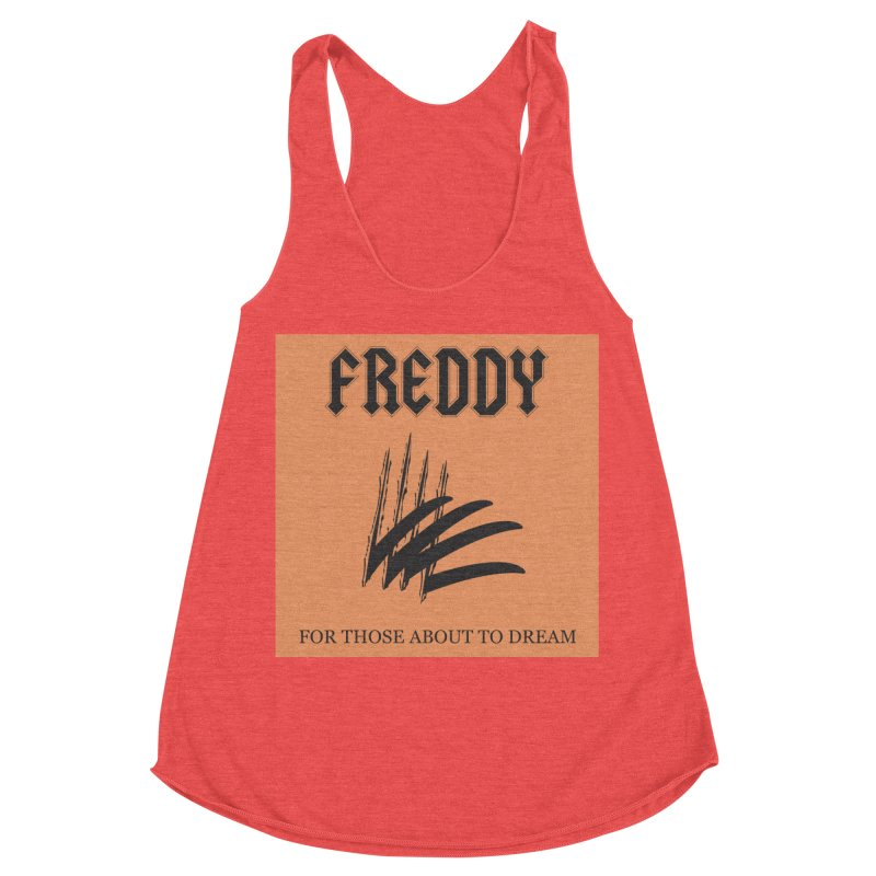 For Those About To Dream Women's Racerback Triblend Tank by oldtee's Artist Shop