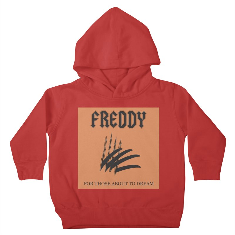 For Those About To Dream Kids Toddler Pullover Hoody by oldtee's Artist Shop