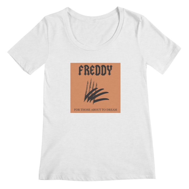 For Those About To Dream Women's Regular Scoop Neck by oldtee's Artist Shop