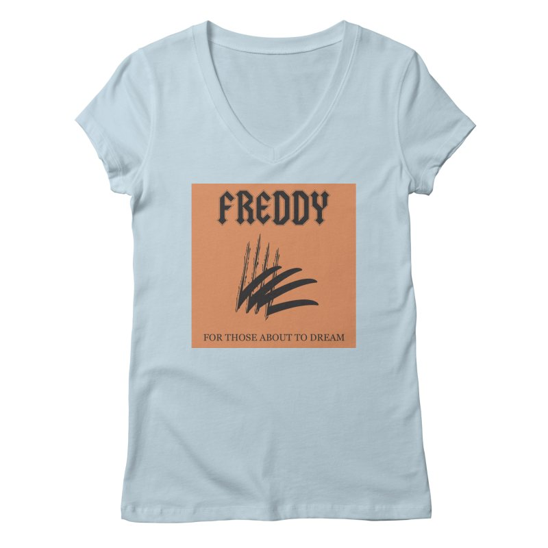 For Those About To Dream Women's Regular V-Neck by oldtee's Artist Shop