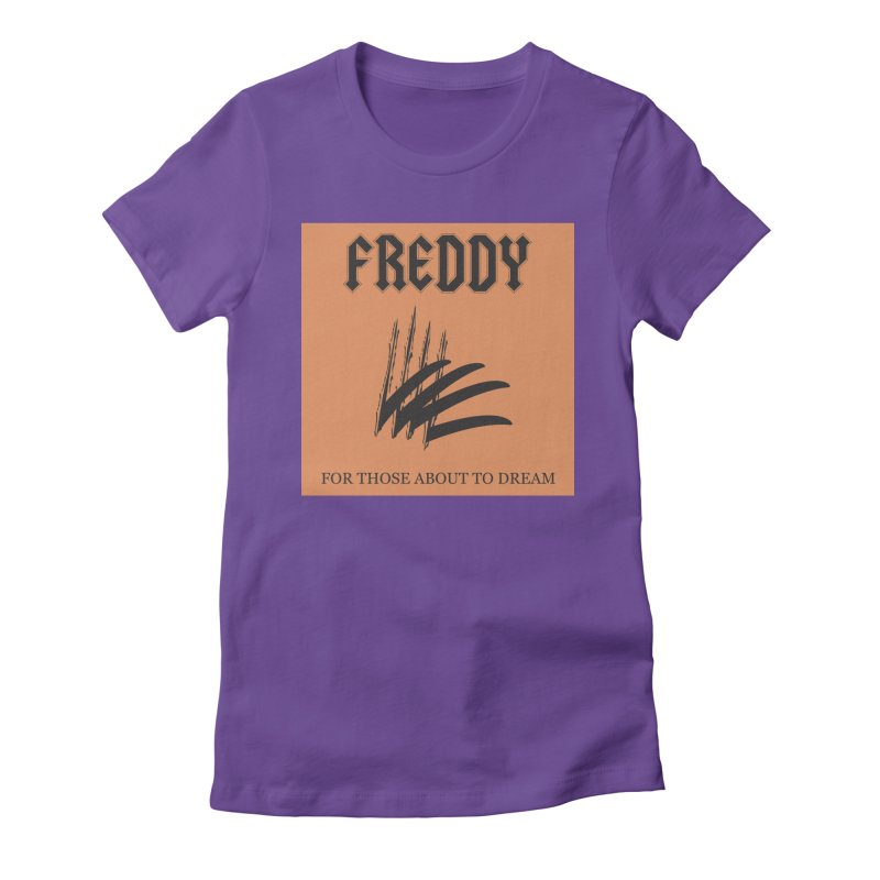 For Those About To Dream Women's Fitted T-Shirt by oldtee's Artist Shop
