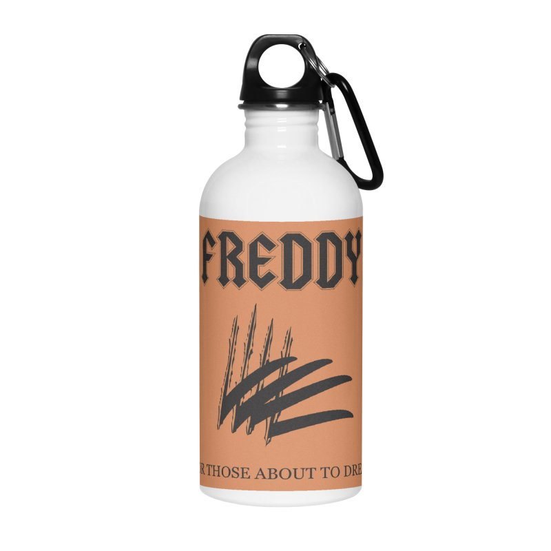 For Those About To Dream Accessories Water Bottle by oldtee's Artist Shop