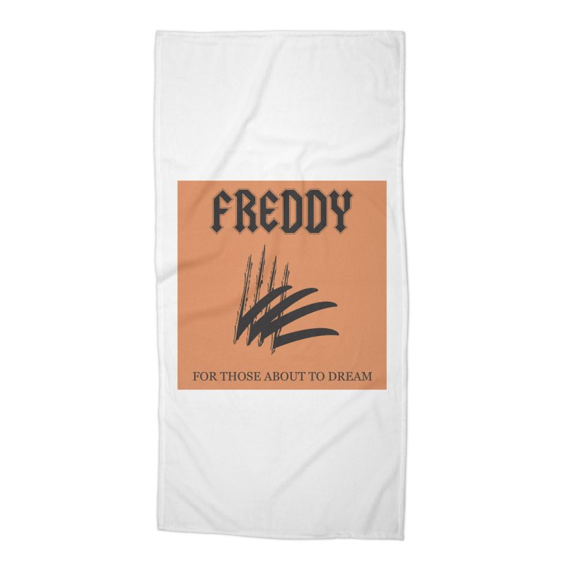 For Those About To Dream Accessories Beach Towel by oldtee's Artist Shop