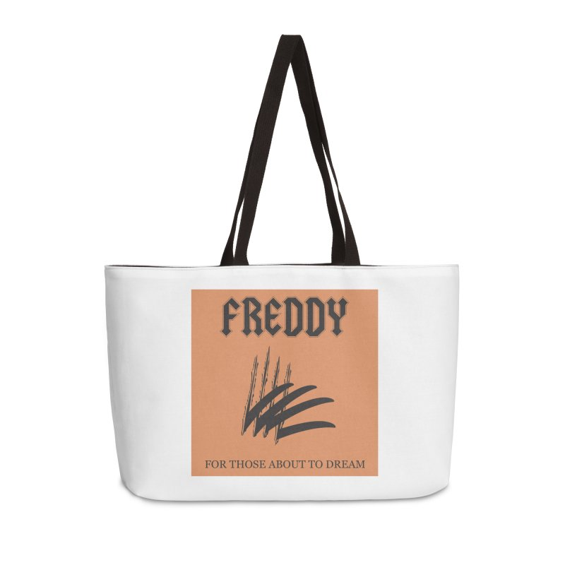 For Those About To Dream Accessories Weekender Bag Bag by oldtee's Artist Shop