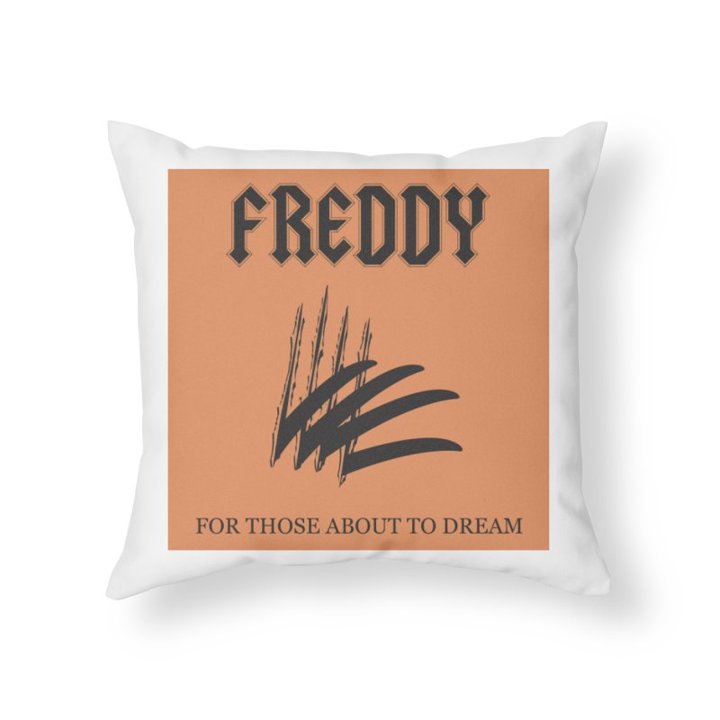For Those About To Dream Home Throw Pillow by oldtee's Artist Shop