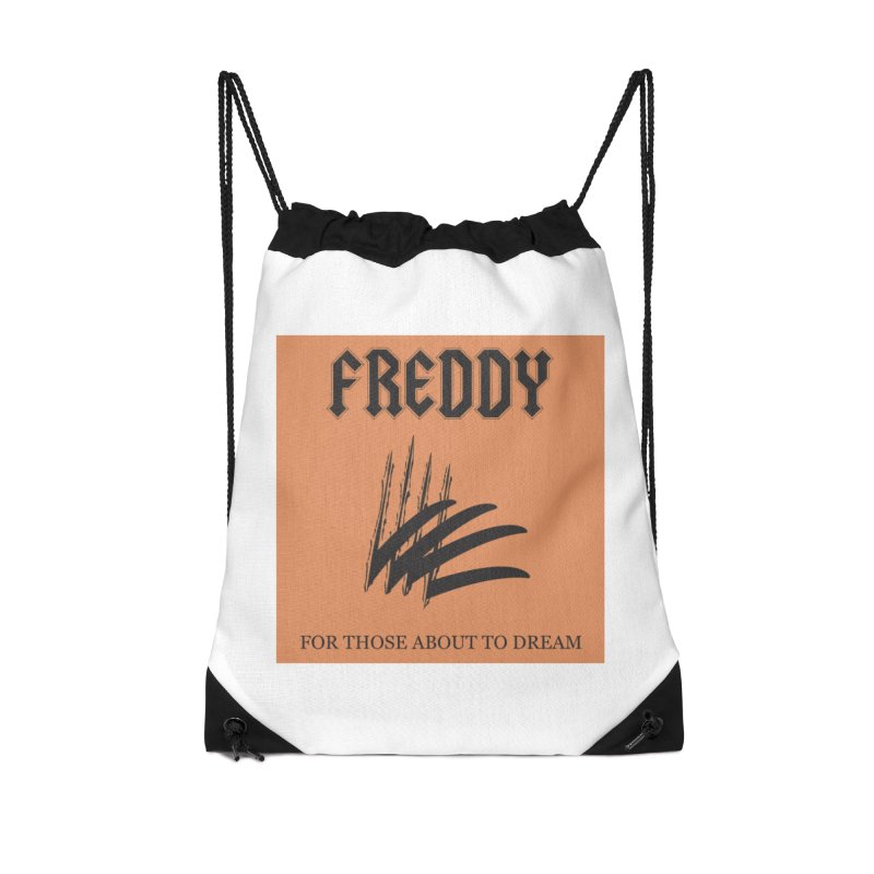 For Those About To Dream Accessories Drawstring Bag Bag by oldtee's Artist Shop