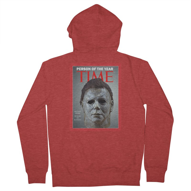 Slasher of the year Men's French Terry Zip-Up Hoody by oldtee's Artist Shop