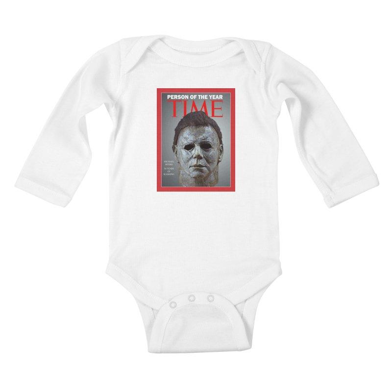Slasher of the year Kids Baby Longsleeve Bodysuit by oldtee's Artist Shop