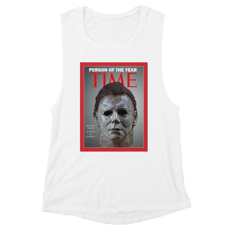 Slasher of the year Women's Muscle Tank by oldtee's Artist Shop