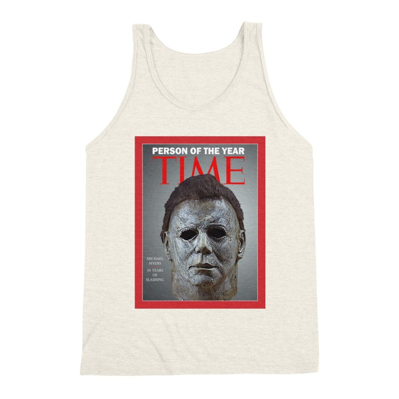 Slasher of the year Men's Triblend Tank by oldtee's Artist Shop
