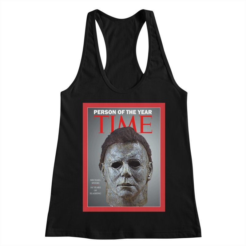 Slasher of the year Women's Racerback Tank by oldtee's Artist Shop