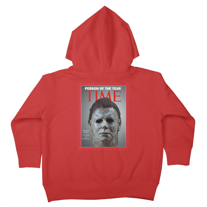 Slasher of the year Kids Toddler Zip-Up Hoody by oldtee's Artist Shop