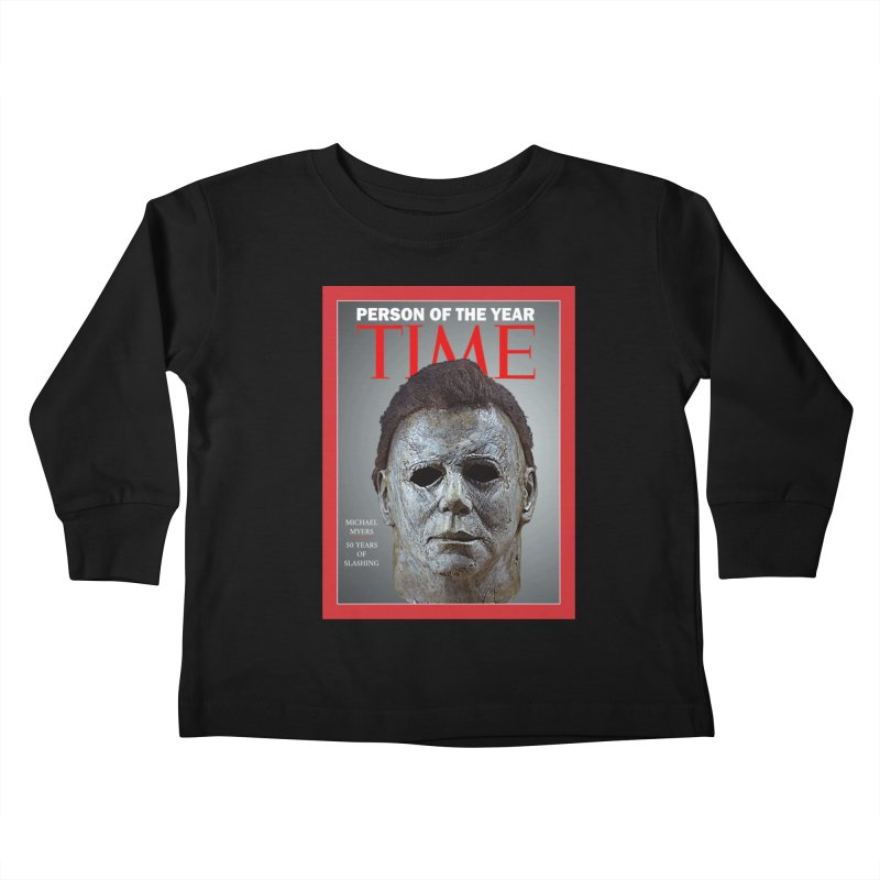 Slasher of the year Kids Toddler Longsleeve T-Shirt by oldtee's Artist Shop