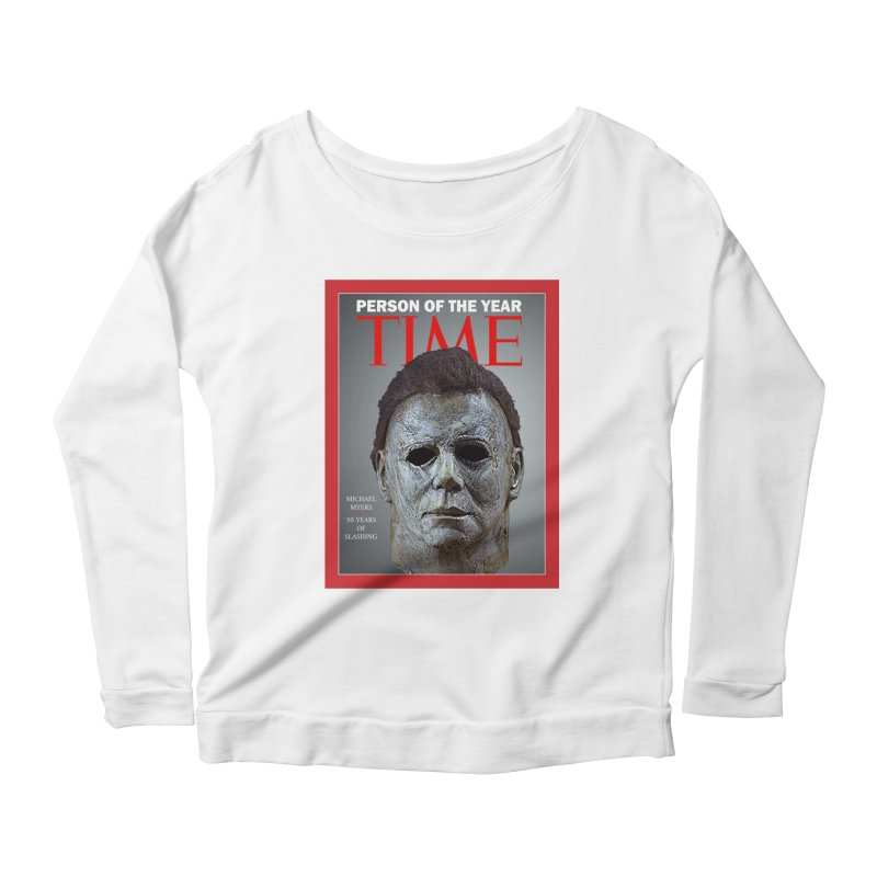 Slasher of the year Women's Scoop Neck Longsleeve T-Shirt by oldtee's Artist Shop