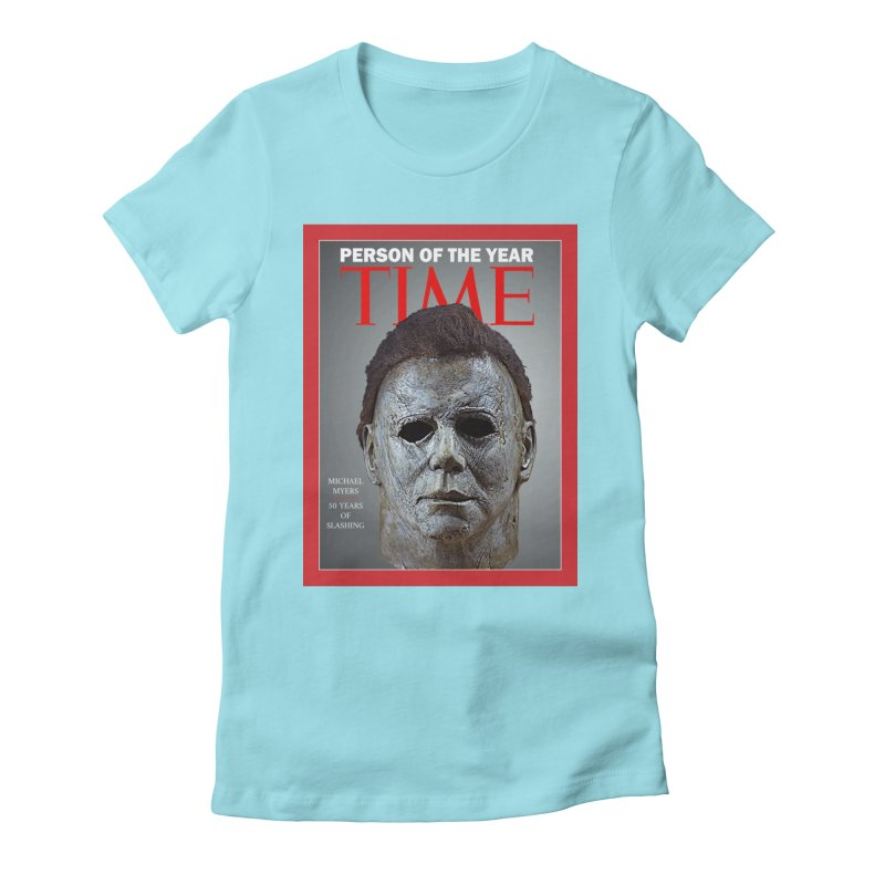 Slasher of the year Women's Fitted T-Shirt by oldtee's Artist Shop