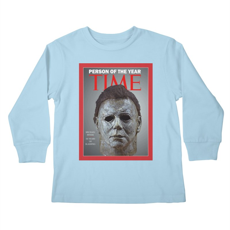 Slasher of the year Kids Longsleeve T-Shirt by oldtee's Artist Shop