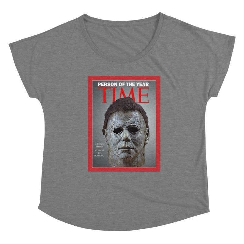 Slasher of the year Women's Scoop Neck by oldtee's Artist Shop