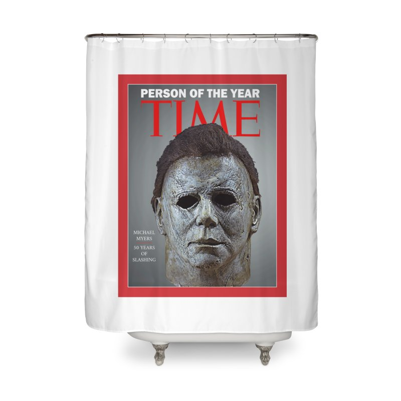 Slasher of the year Home Shower Curtain by oldtee's Artist Shop