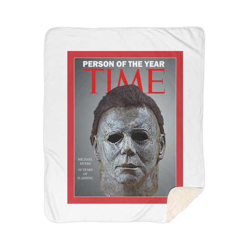 Slasher of the year Home Sherpa Blanket Blanket by oldtee's Artist Shop