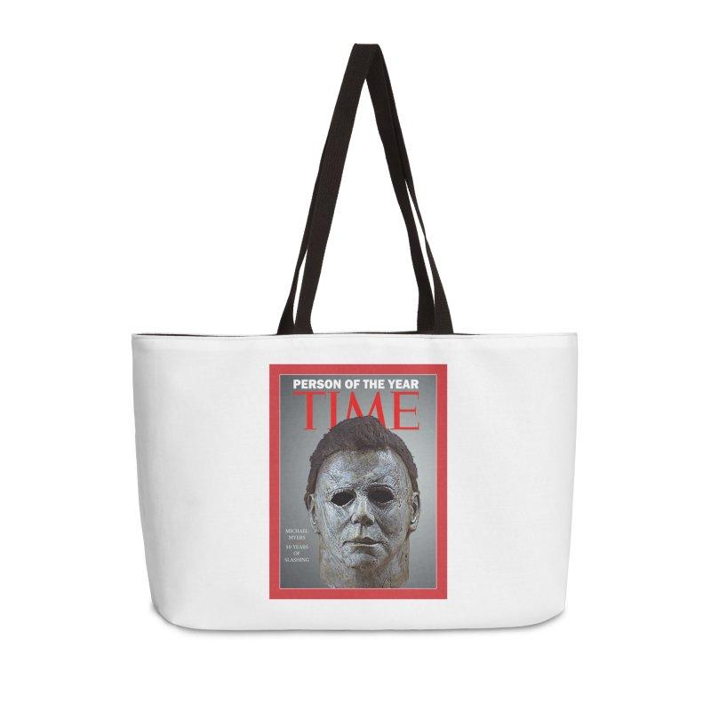 Slasher of the year Accessories Weekender Bag Bag by oldtee's Artist Shop