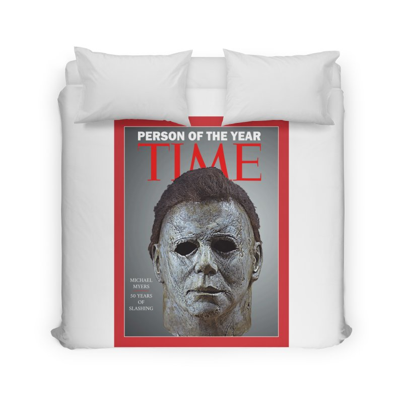 Slasher of the year Home Duvet by oldtee's Artist Shop