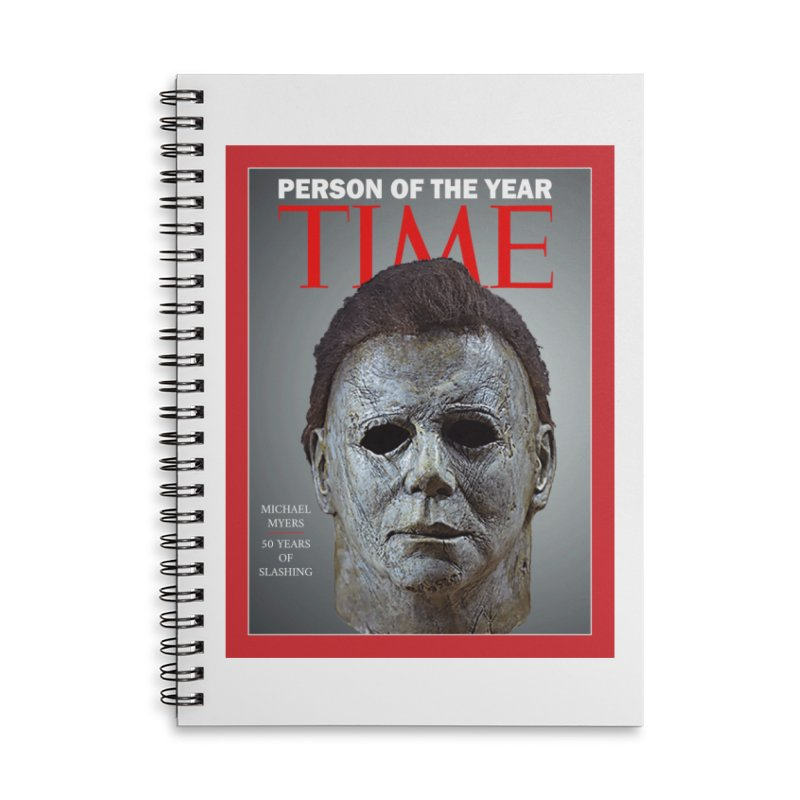 Slasher of the year Accessories Lined Spiral Notebook by oldtee's Artist Shop