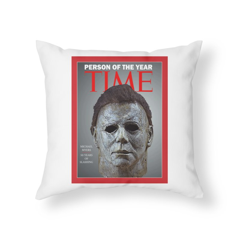 Slasher of the year Home Throw Pillow by oldtee's Artist Shop