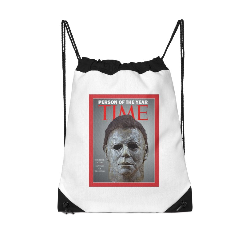 Slasher of the year Accessories Drawstring Bag Bag by oldtee's Artist Shop