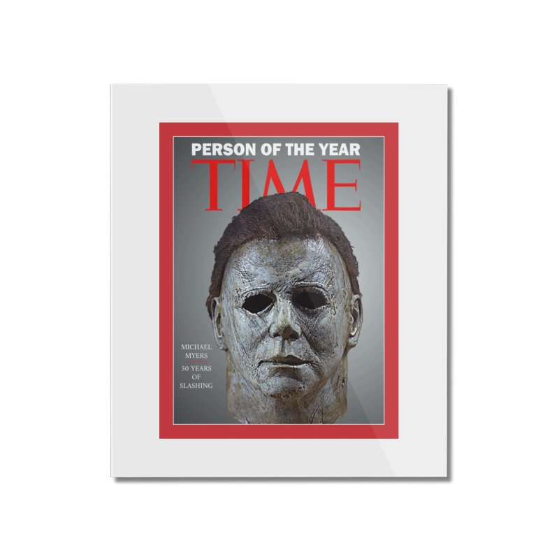 Slasher of the year Home Mounted Acrylic Print by oldtee's Artist Shop