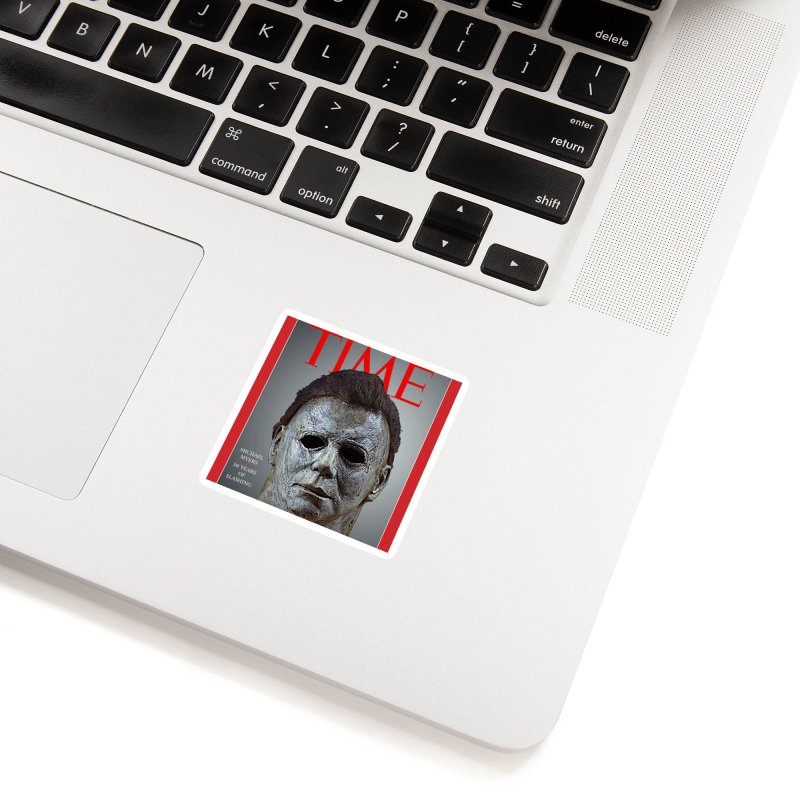 Slasher of the year Accessories Sticker by oldtee's Artist Shop