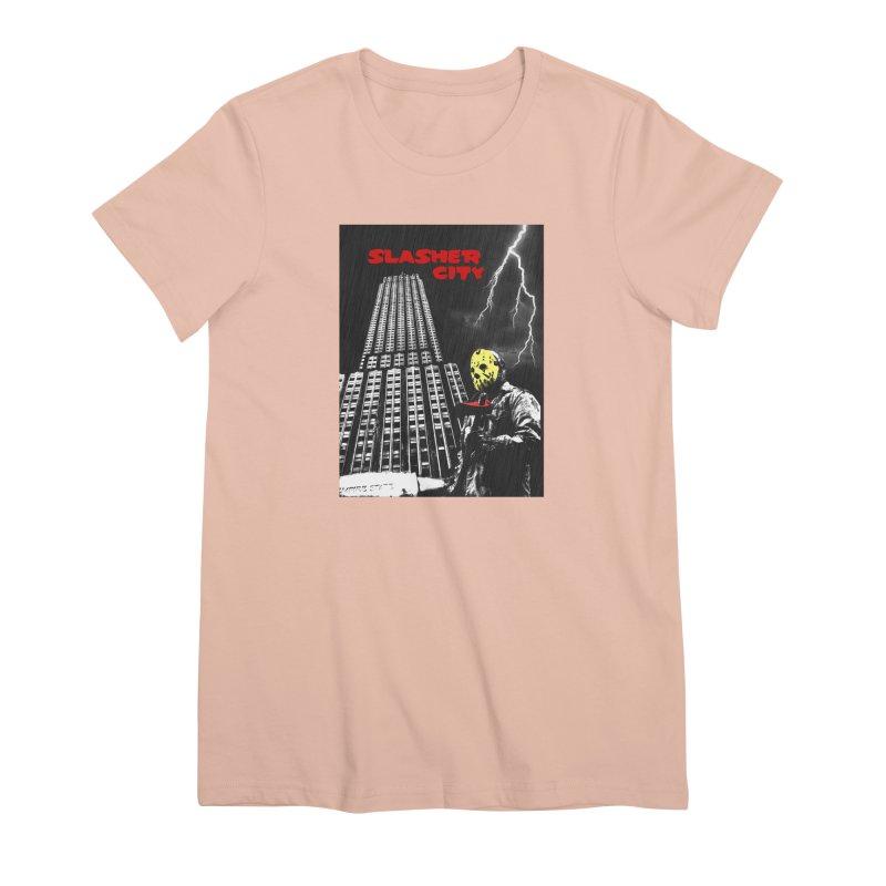 Slasher City Women's Premium T-Shirt by oldtee's Artist Shop
