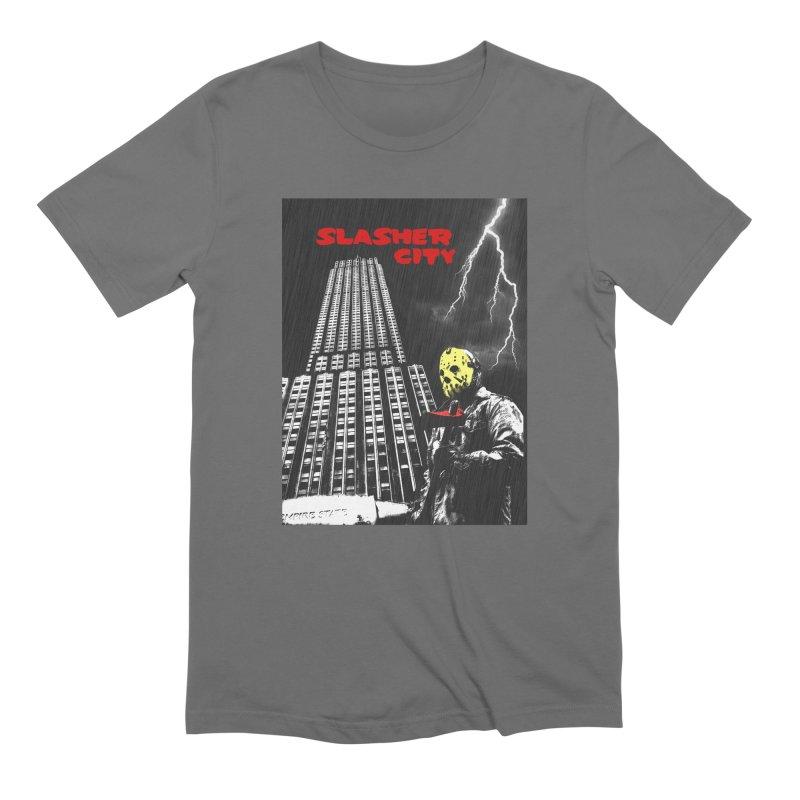 Slasher City Men's Extra Soft T-Shirt by oldtee's Artist Shop