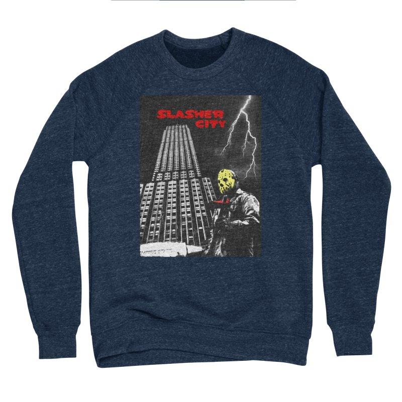 Slasher City Men's Sponge Fleece Sweatshirt by oldtee's Artist Shop