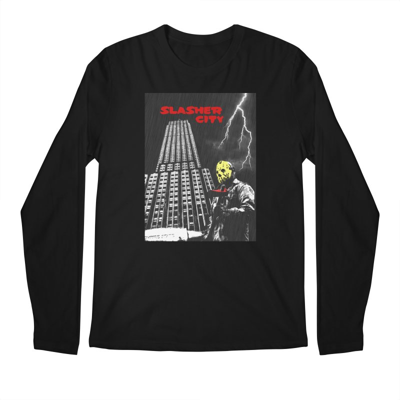 Slasher City Men's Regular Longsleeve T-Shirt by oldtee's Artist Shop