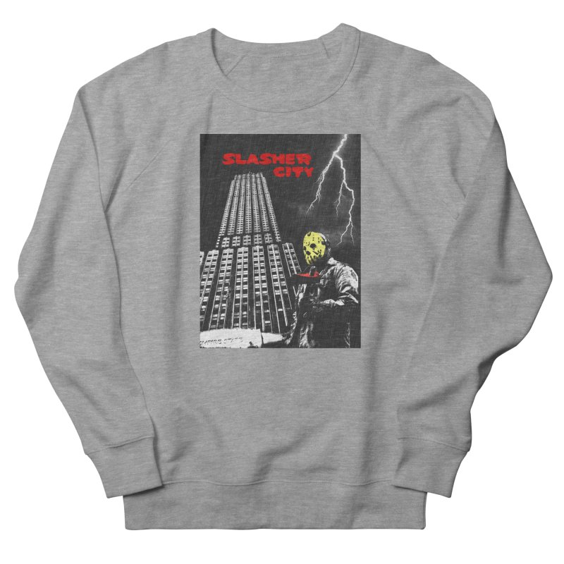 Slasher City Women's French Terry Sweatshirt by oldtee's Artist Shop