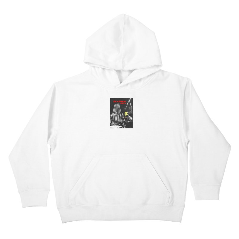 Slasher City Kids Pullover Hoody by oldtee's Artist Shop
