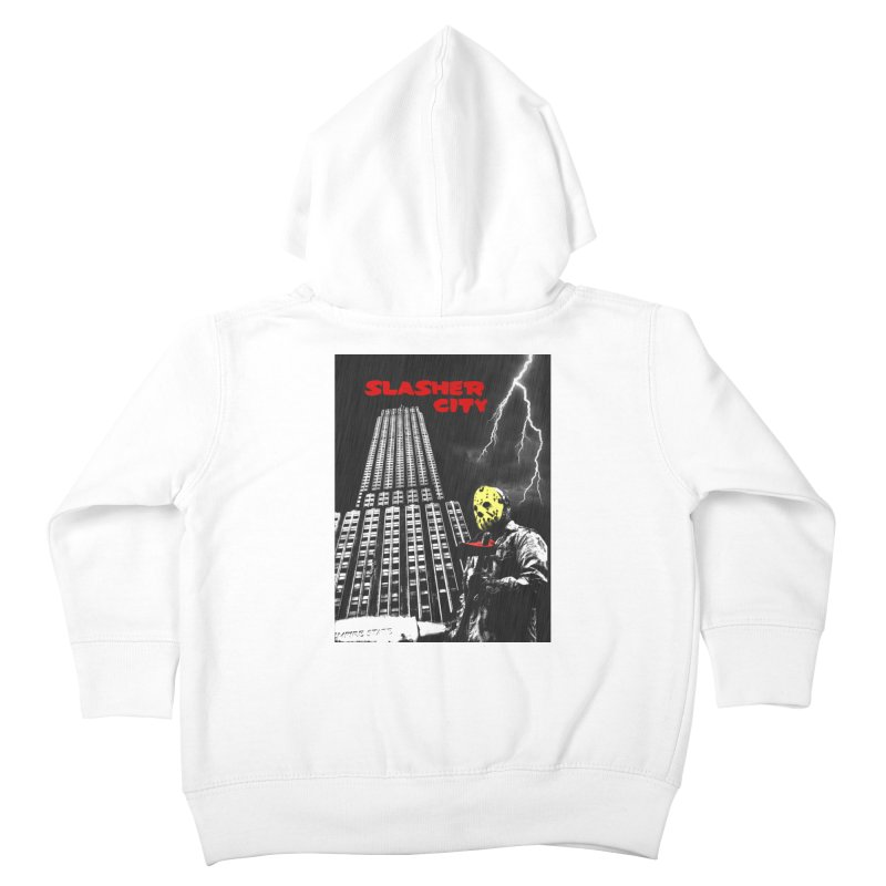 Slasher City Kids Toddler Zip-Up Hoody by oldtee's Artist Shop