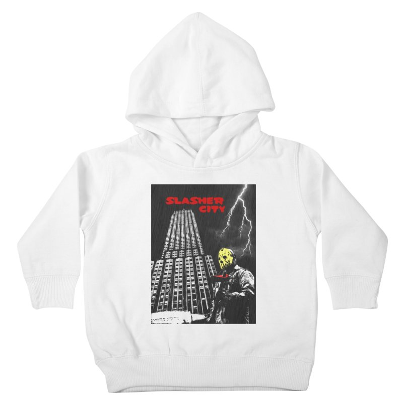 Slasher City Kids Toddler Pullover Hoody by oldtee's Artist Shop