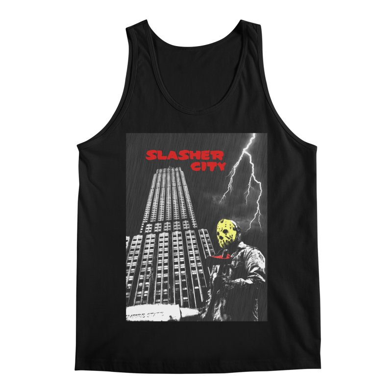 Slasher City Men's Regular Tank by oldtee's Artist Shop