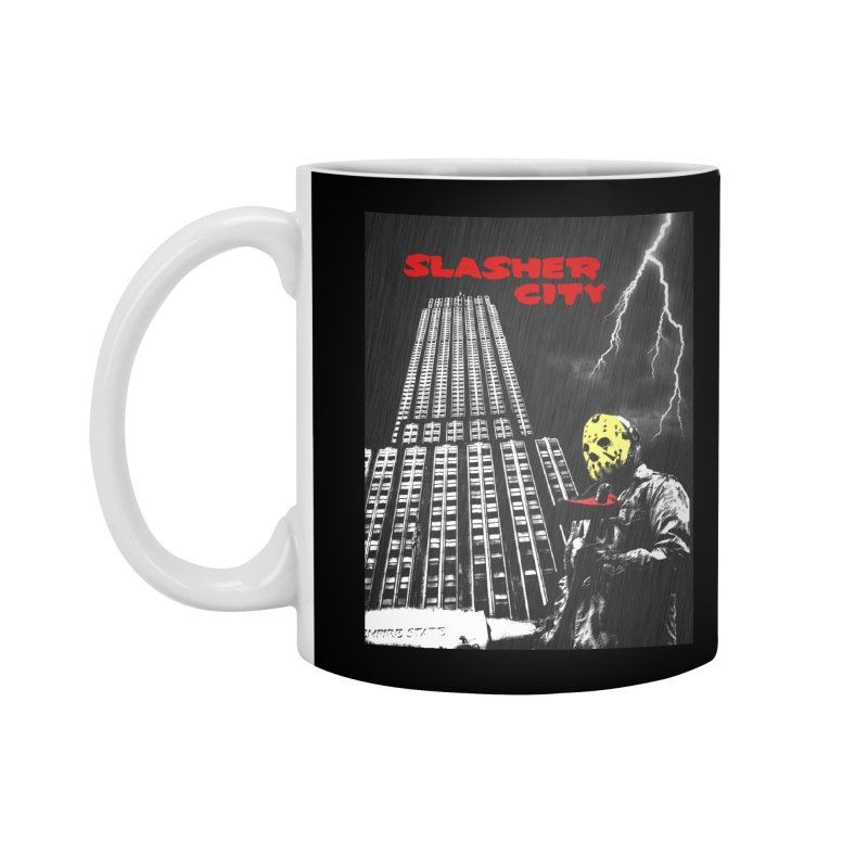Slasher City Accessories Standard Mug by oldtee's Artist Shop
