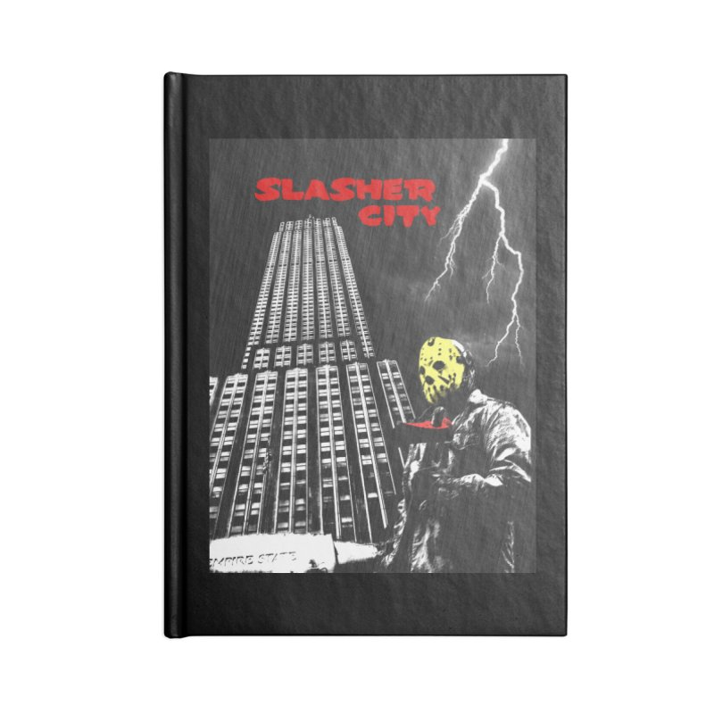 Slasher City Accessories Blank Journal Notebook by oldtee's Artist Shop