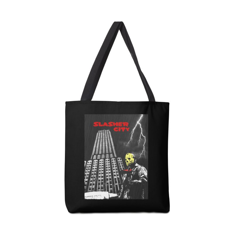 Slasher City Accessories Tote Bag Bag by oldtee's Artist Shop