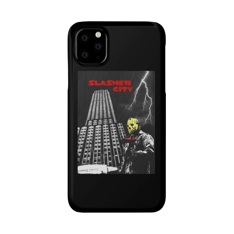 Slasher City Accessories Phone Case by oldtee's Artist Shop