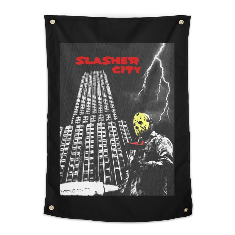 Slasher City Home Tapestry by oldtee's Artist Shop