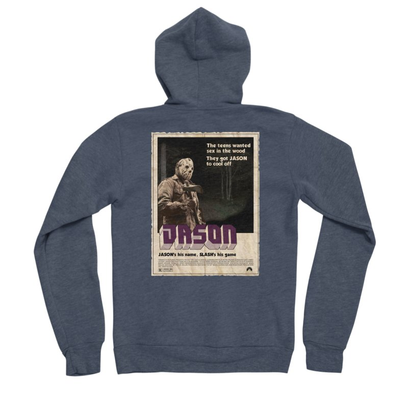Jason Shaft Men's Sponge Fleece Zip-Up Hoody by oldtee's Artist Shop
