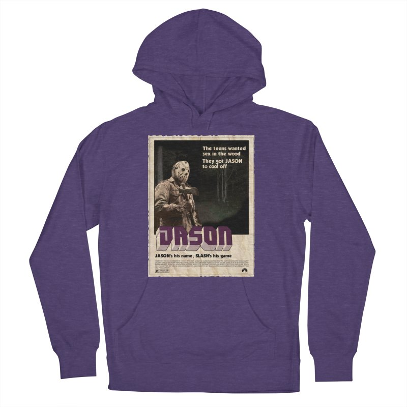 Jason Shaft Women's French Terry Pullover Hoody by oldtee's Artist Shop