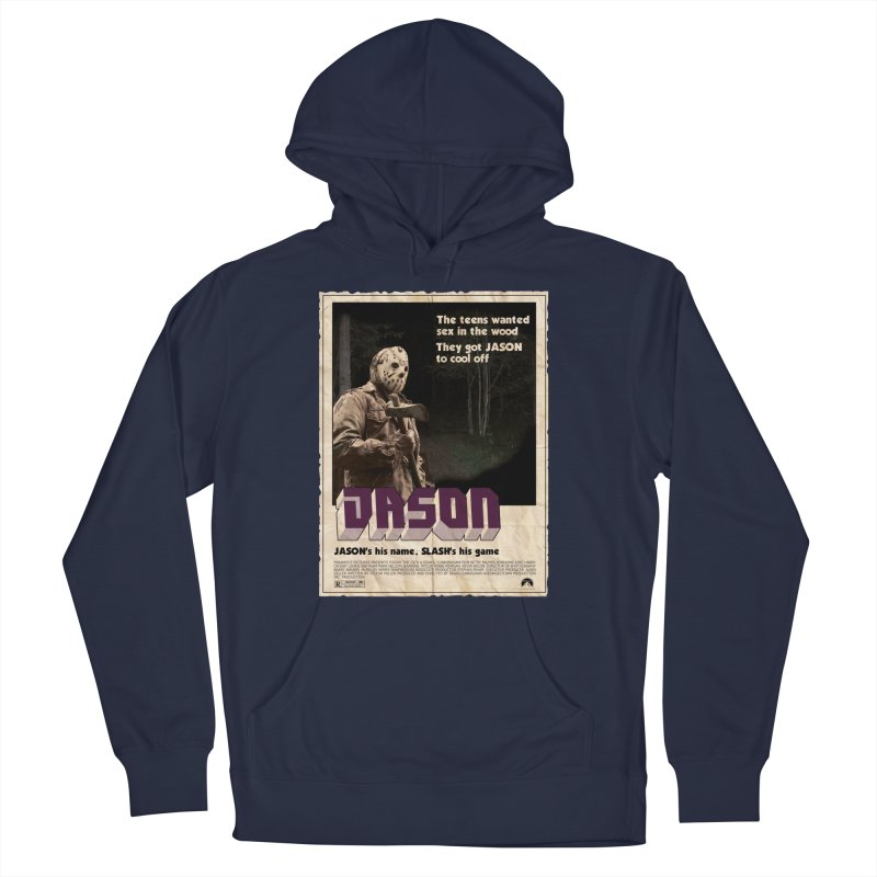 Jason Shaft Men's French Terry Pullover Hoody by oldtee's Artist Shop