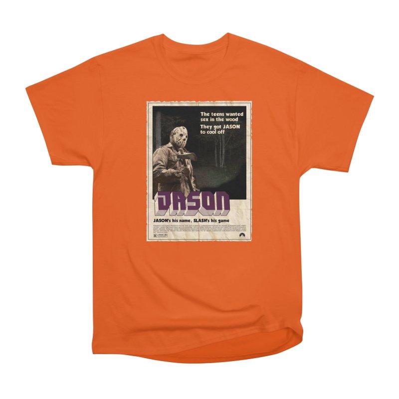 Jason Shaft Men's Heavyweight T-Shirt by oldtee's Artist Shop